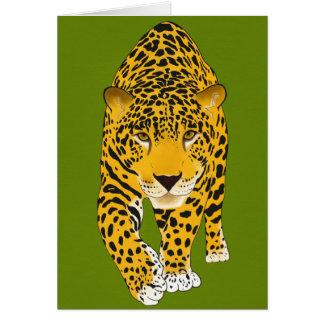 Tarjeta de felicitación de Jaguar