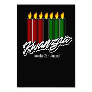 Tarjeta de felicitación de Kwanzaa