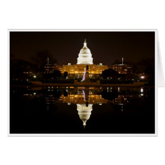 Tarjeta de felicitación de la C.C. de Washington