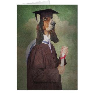 Tarjeta de felicitación de la graduación