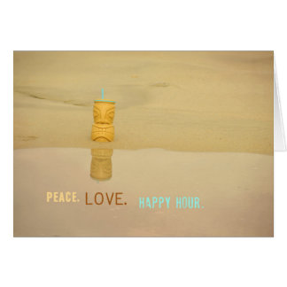 Tarjeta de felicitación de la HORA FELIZ 5x7
