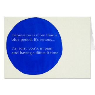 Tarjeta de felicitación de la salud mental de Sara