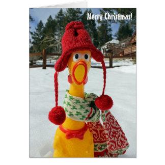 ¡Tarjeta de felicitación de las Felices Navidad