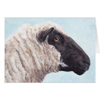 Tarjeta de felicitación de las ovejas II de la
