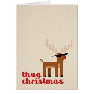 Tarjeta de felicitación de Navidad del navidad de