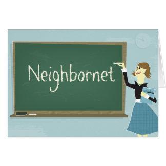 Tarjeta de felicitación de Neighbornet