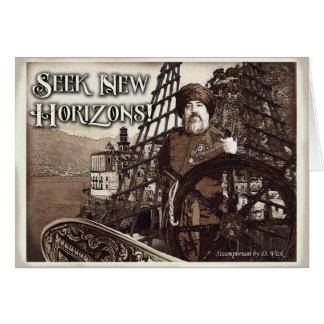 Tarjeta de felicitación de New Horizons