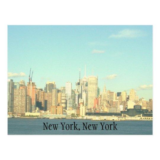 Tarjeta de felicitación de Nueva York, Nueva York