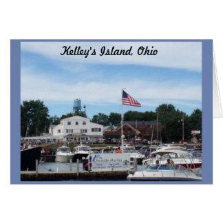 Tarjeta de felicitación de Ohio del puerto