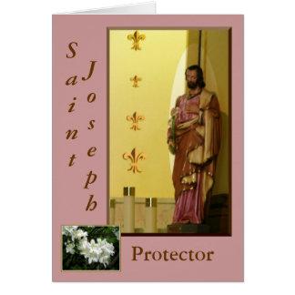 Tarjeta de felicitación de San José