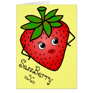 Tarjeta de felicitación de SassBerry
