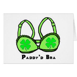Tarjeta de felicitación de St Patrick del