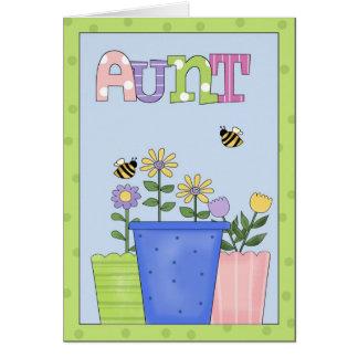 Tarjeta de felicitación de tía All Occasion