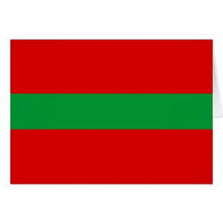 tarjeta de felicitación de Transnistria