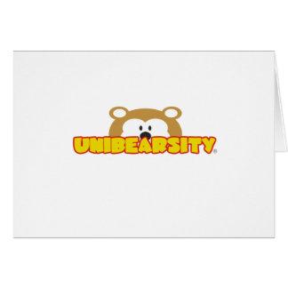 Tarjeta de felicitación de Unibearsity®
