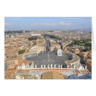 Tarjeta de felicitación de Vatican