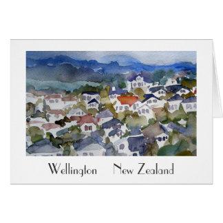 Tarjeta de felicitación de Wellington Nueva