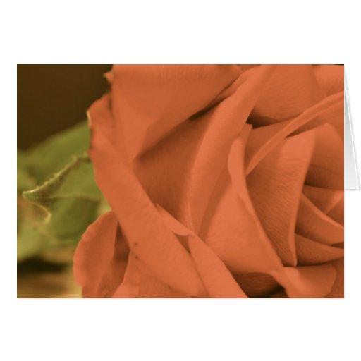 Tarjeta de felicitación del boda con un color de r