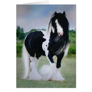"""Tarjeta de felicitación del caballo de """"Tessa"""""""