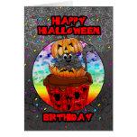tarjeta de felicitación del cumpleaños de Hallowee