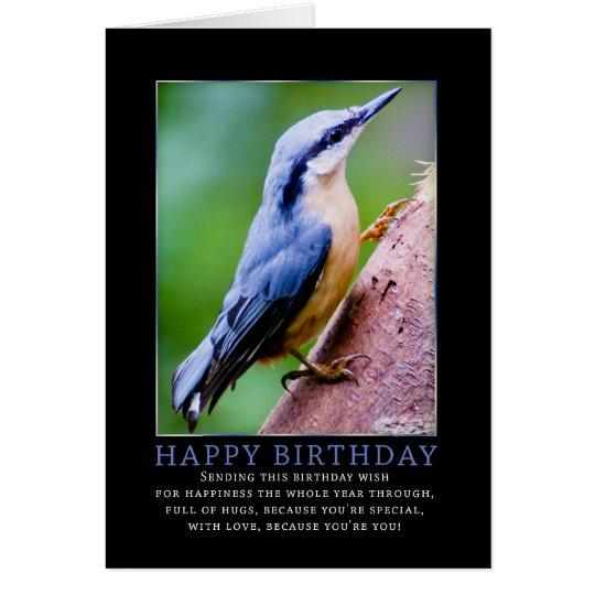 Tarjeta de felicitación del cumpleaños del