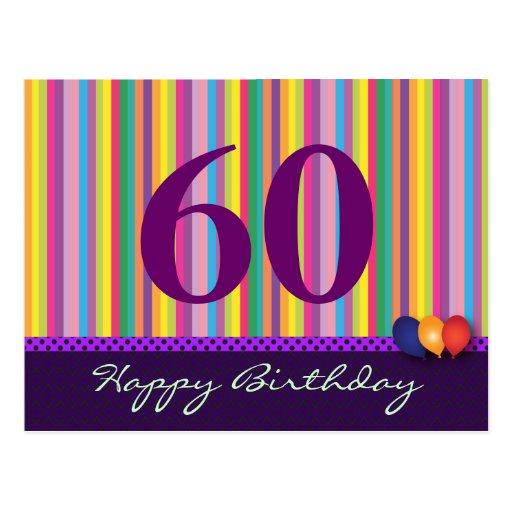 Tarjeta de felicitación del cumpleaños para todas  postal