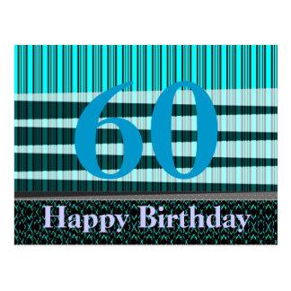 Tarjeta de felicitación del cumpleaños para todas  tarjeta postal