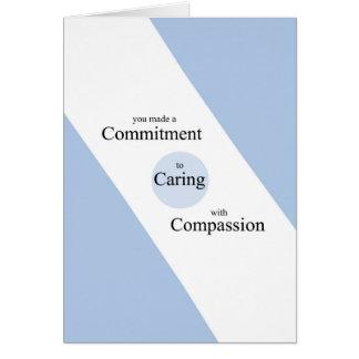 Tarjeta de felicitación del día de las enfermeras