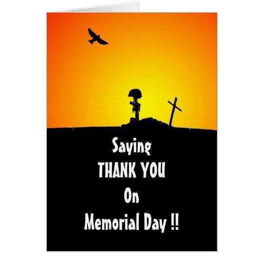Tarjeta de felicitación del día de los veteranos