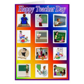 Tarjeta de felicitación del día del profesor 9