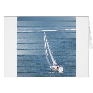 Tarjeta de felicitación del diseño del viento de