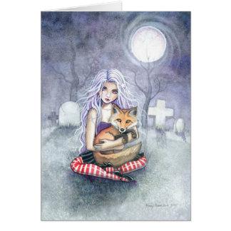 Tarjeta de felicitación del Fox de Annie por Molly