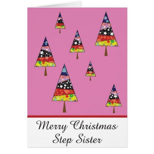 Tarjeta de felicitación del navidad de la hermana