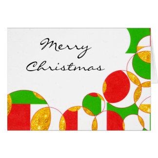 Tarjeta de felicitación del navidad/del día de