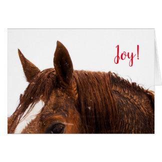 Tarjeta de felicitación del navidad del día de
