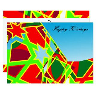 Tarjeta de felicitación del navidad/del día de invitación 12,7 x 17,8 cm