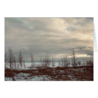 Tarjeta de felicitación del paisaje