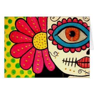"""Tarjeta de felicitación día de """"Rosa Mexicano"""" -"""