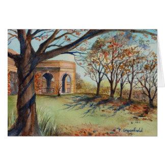 Tarjeta de felicitación - el jardín Harrogate del