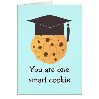 Tarjeta de felicitación elegante de la graduación