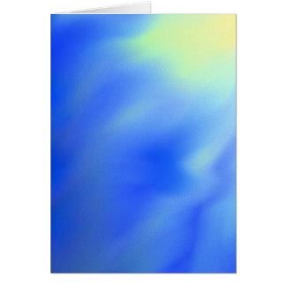 Tarjeta de felicitación en blanco abstracta del