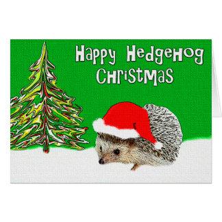 Tarjeta de felicitación feliz del navidad del