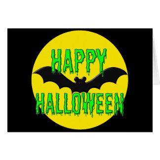 """Tarjeta de felicitación - """"feliz Halloween"""