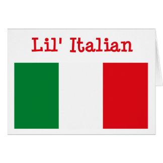 Tarjeta de felicitación italiana de Lil