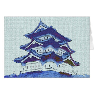 Tarjeta de felicitación japonesa