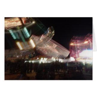 Tarjeta de felicitación lenta del carnaval del