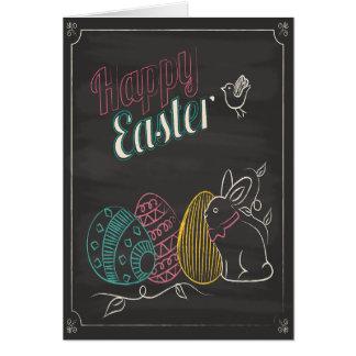 Tarjeta de felicitación linda de Pascua