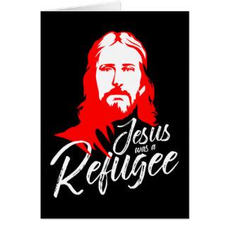 Tarjeta de felicitación oscura de Jesús