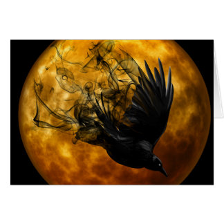 Tarjeta de felicitación pagana de la Luna Llena