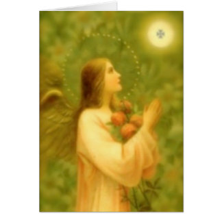Tarjeta de felicitación: Pan de ángeles
